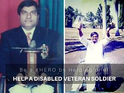 HELP A DISABLED VETERAN SOLDIER