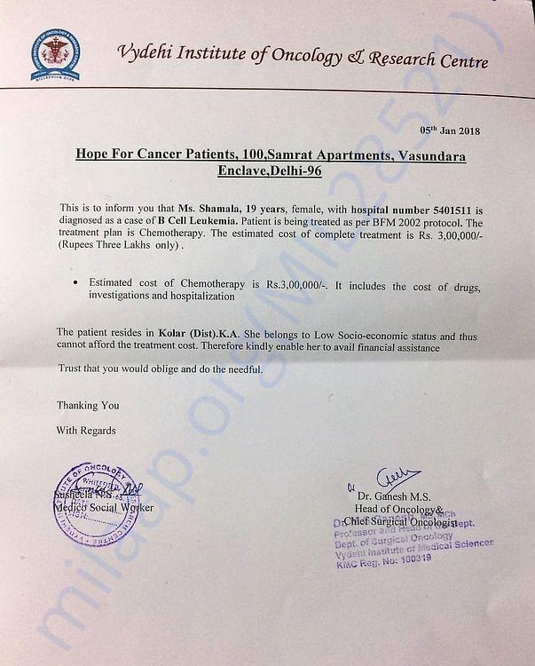 Doctor's Appeal letter