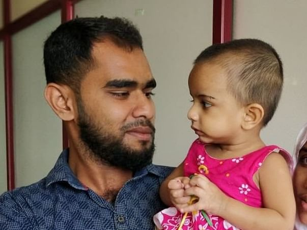 Help 11-month-old Ayisha fight cancer so that she can she survive