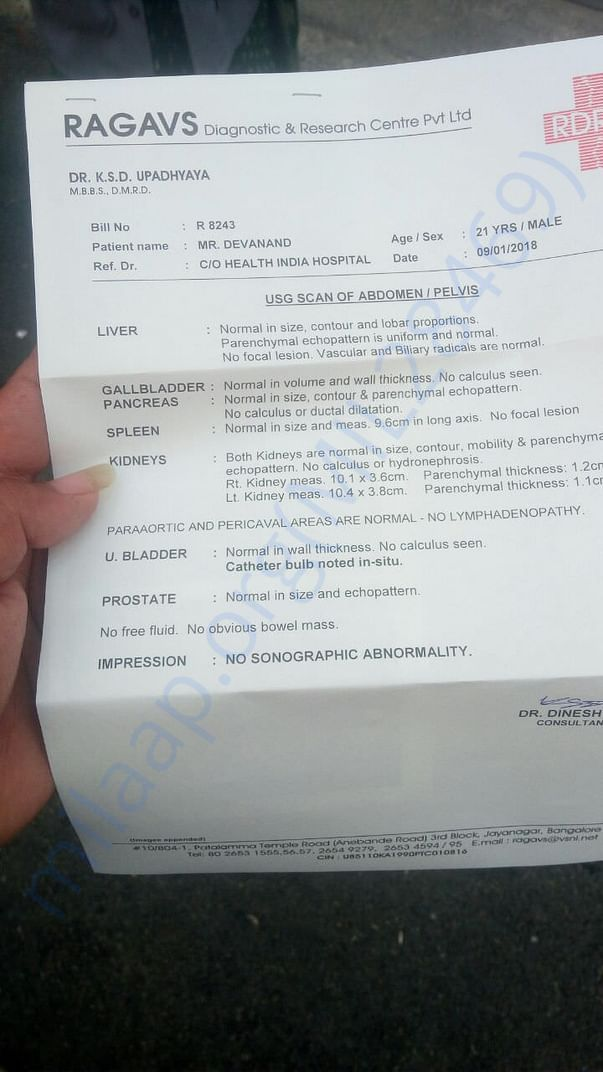 CT-Scan Report