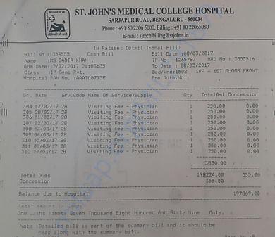Previous bill