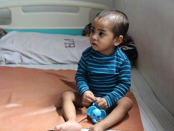 Blood Cancer Makes This 2-year-Old Cry In Excruciating Pain All Day