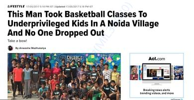 Started in August 2014 with just five children on a half-court.