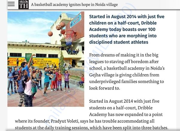 Gejha village is giving underprivileged children a chance to learn.