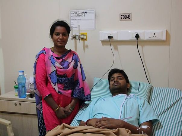 Help 25-year-old Santhosh fight cancer
