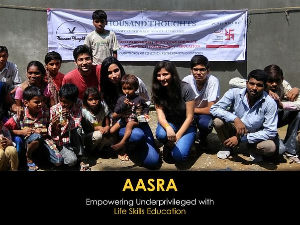 AASRA - Empowering Underprivileged With Life Skills Education