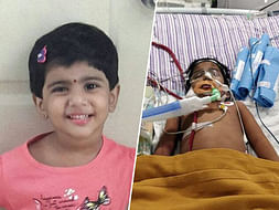 3-year-old Sandhiya clings on to her life on artificial life support