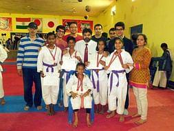 Help underprivileged children to live their dream-Karate Championship