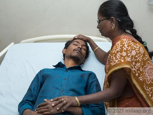 Help 24-year-old Srikar who is suffering from a severe liver disease