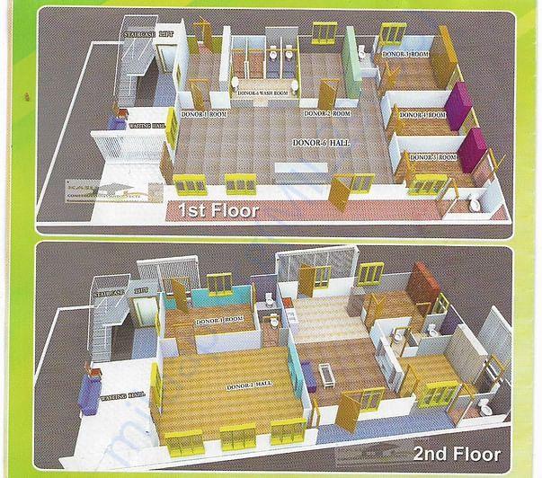1& 2nd floor