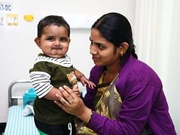 8-Month-Old Hemanth Smiles Even When His Body Is Giving Up On Him