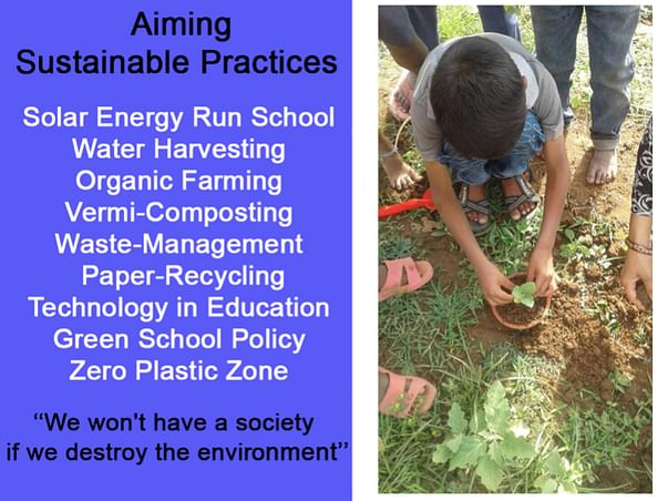 Please Support a Sustainable School in Orchha, Bundelkhand, M.P