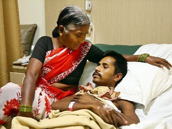 25-year-old Venkatesh in a critical state after being hit by a truck