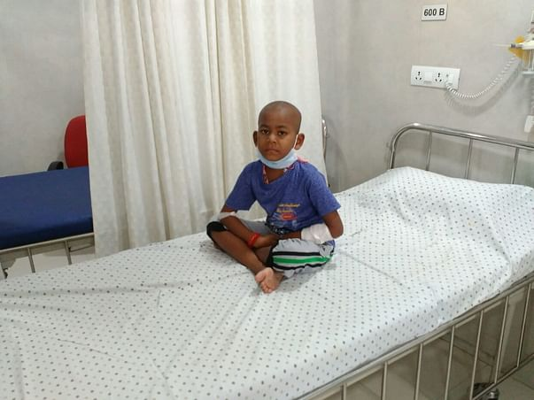 Help 7-year-old Udaykarthik Who Thinks His Cancer Is An Infection