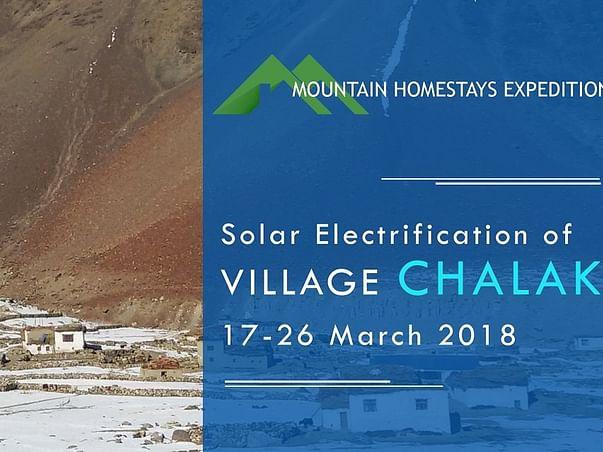 Fundraiser for Solar Electrification of Chalak Village