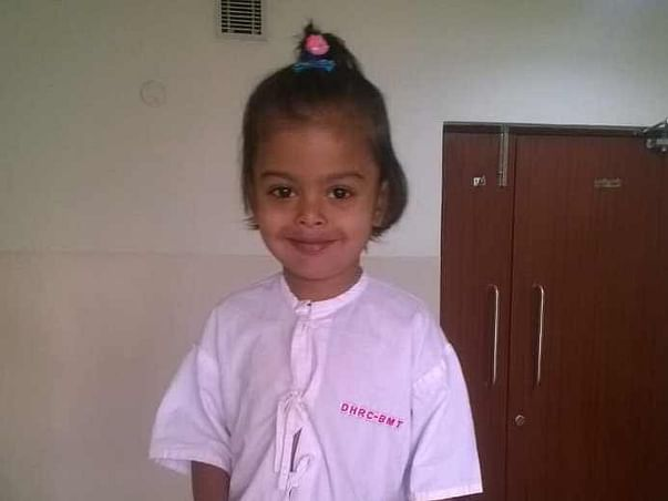 Your support could save Baby Radhika from lifelong blood transfusions