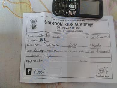 School receipt