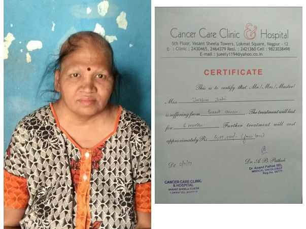 Help Mandar For Treatment Of His Mother Suffering From Breast Cancer