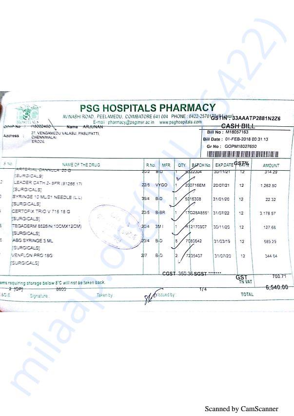 Pharmacy bills Feb 1st-1