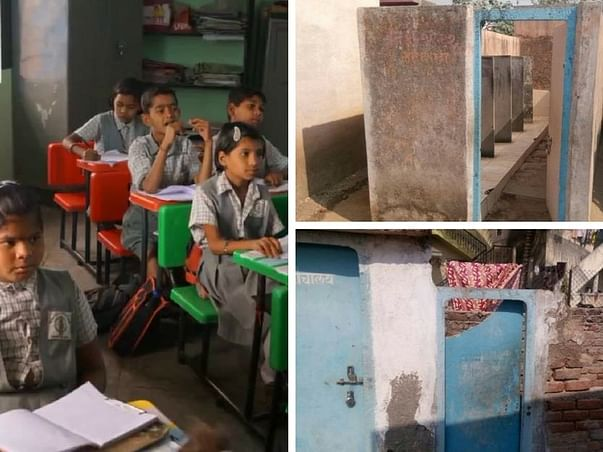 Support Toilets for Children in Zapwadi School