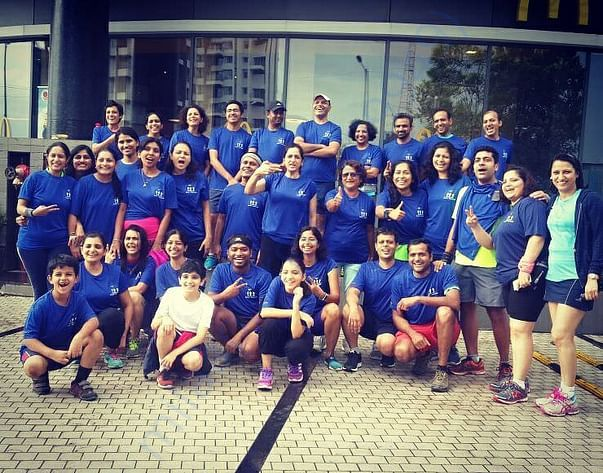 Pune Running Group Members - many of whom are part of this challenge.