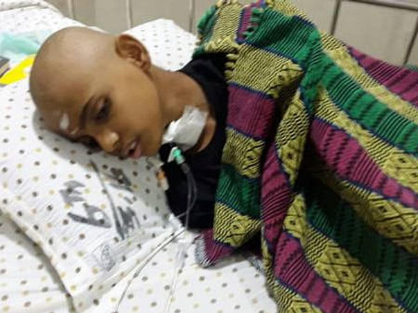 This 13 year old student needs your support to fight blood cancer