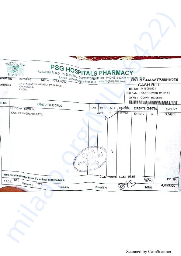 Pharmacy bills Feb 3-2