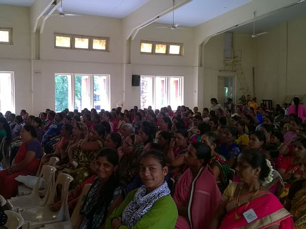 Tribal Women's Event And Empowerment Training Such As Tailoring