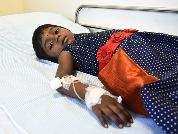 Help Larshini fight Thalassemia