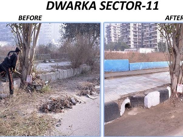 Community Initiative to Clean-up Dwarka (New Delhi)