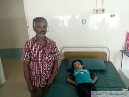 Help 4-year-old Vetriselvan Who Struggles To Breathe Every Day