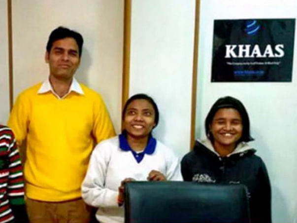 #BeBoldForChange. Support KHAAS: A Travel Agency Run By Blind Girls