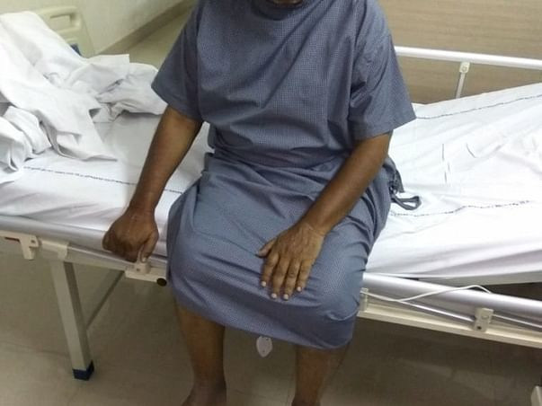 Help Arif to stand on his feet again