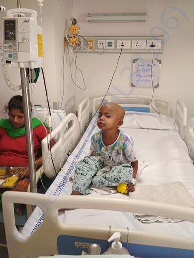 Fundraisers Admitted For Chemotherapy treatment In TaTa Hospital parel