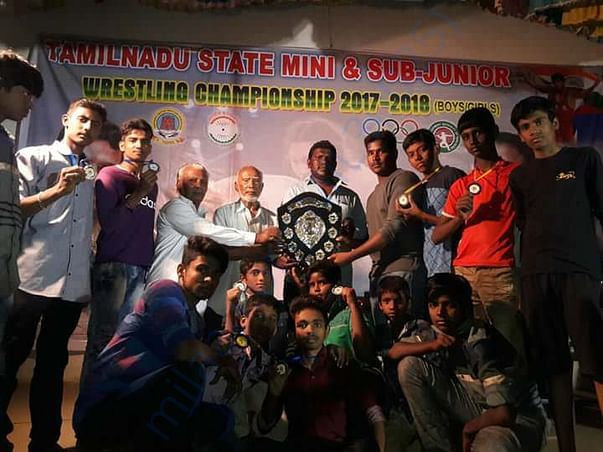 Ilango and team won overall championship 2017-2018