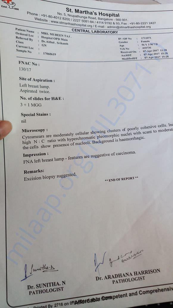 Central Laboratory Report
