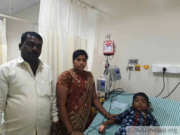 The Only Thing That Can Save Manikanth Now Is A Bone Marrow Transplant