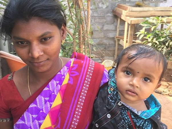 Help needful young widowed mother who is mentally not capable to work