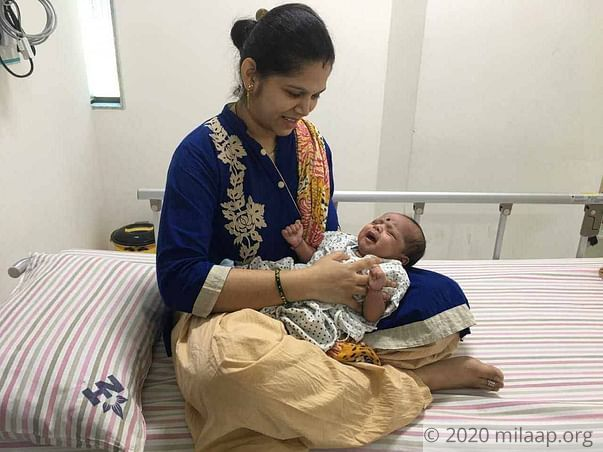 Help Mitali save her one month old baby girl