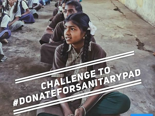 Donate for sanitary pads