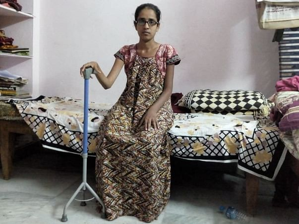 Help 25-year-old Swathi who is in pain due to a severe muscle disorder