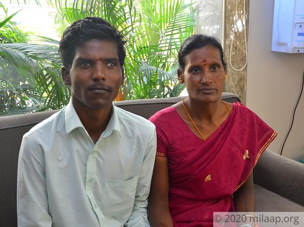 Help save a deaf and dumb Son Who has A fatal heart disease.