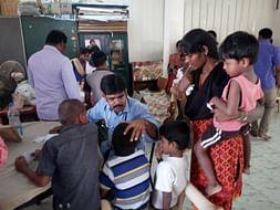 Help 100  Destitute kids of  Chennapuri Home recieve medical care
