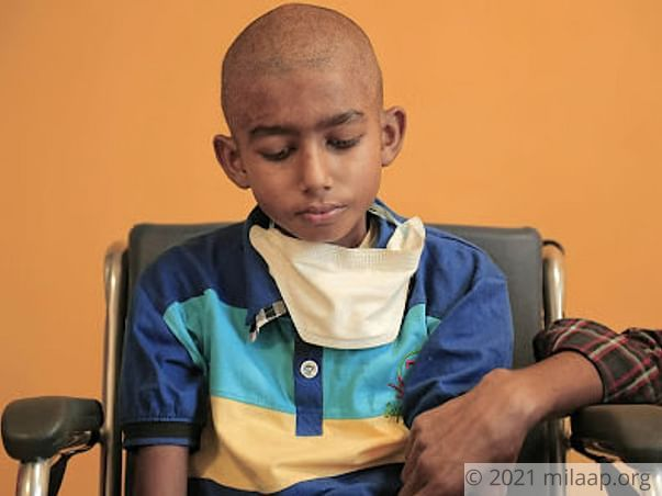 11-year-old Osman needs help fighting blood cancer
