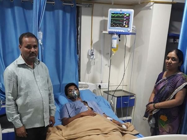 24-year-old Omkar suffers everyday in pain due to a hole in his heart