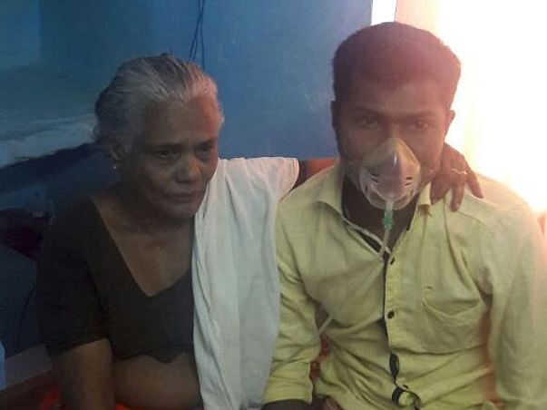 Please Help Sudheesh For His Lungs Transplantation
