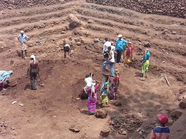 Watershed development program in drought prone villages of Maharashtra