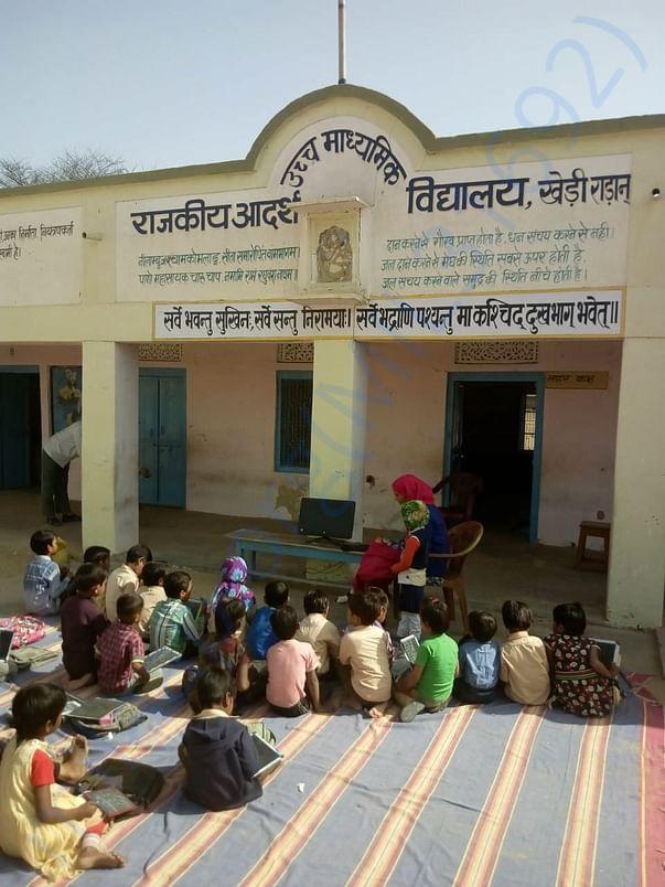 Kheri Radan School Assembly