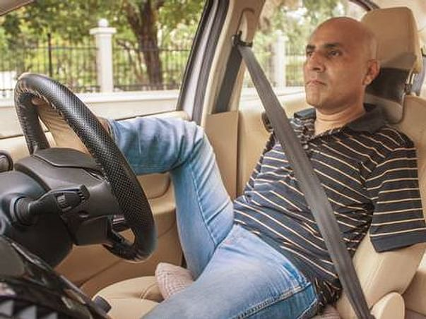 Meet The First Indian Without Arms To Get A Driving License