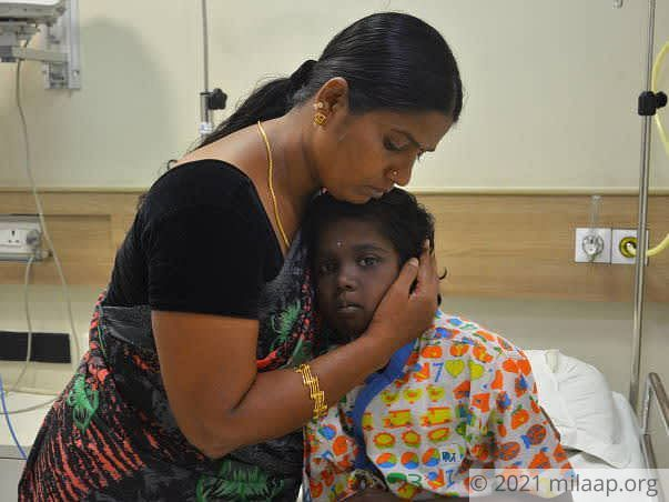 Help 10-year-old Harini fight a severe kidney disease